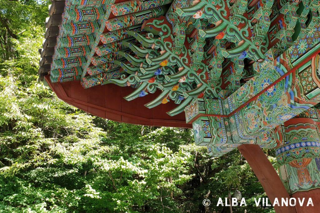 En la entrada al parque nacional Gyeryongsan - Corea del Sur - Estudiar en el extranjero - Blog de Alba Vilanova