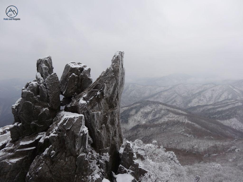 El parque nacional Gayasan en invierno @ Peaks and Penguins - Corea del Sur - Viajar - Blog de Alba Vilanova