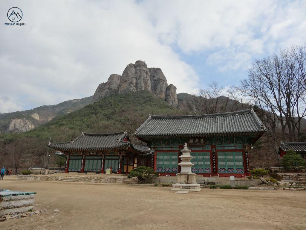 En la entrada al parque nacional Juwangsan @ Peaks and Penguins - Corea del Sur - Viajar - Blog de Alba Vilanova
