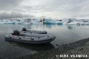 El lago Jökursárlon y el hielo del glaciar Vatnajökull - Islandia - Viajar - Blog de Alba Vilanova