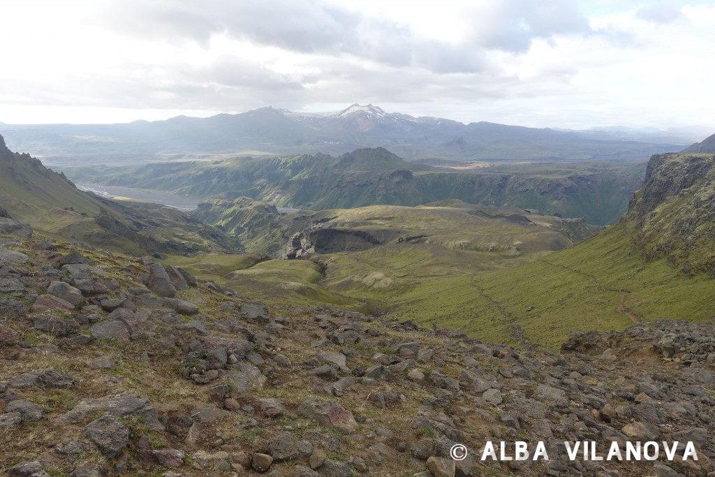 Durante el trek enFimmvörduháls: Llegando a Thórsmörk desde Skógar - Islandia - Viajar - Blog de Alba Vilanova