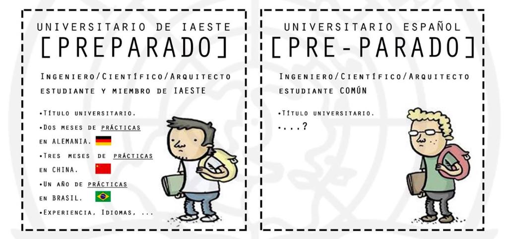 ¿Cómo quieres terminar tus estudios? @ IAESTE Málaga - Trabajar en el extranjero - Blog de Alba Vilanova