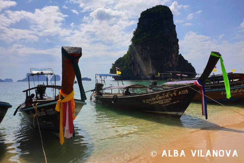 La playa Phra Nang en la provincia de Krabi - Tailandia - Viajar - Blog de Alba Vilanova