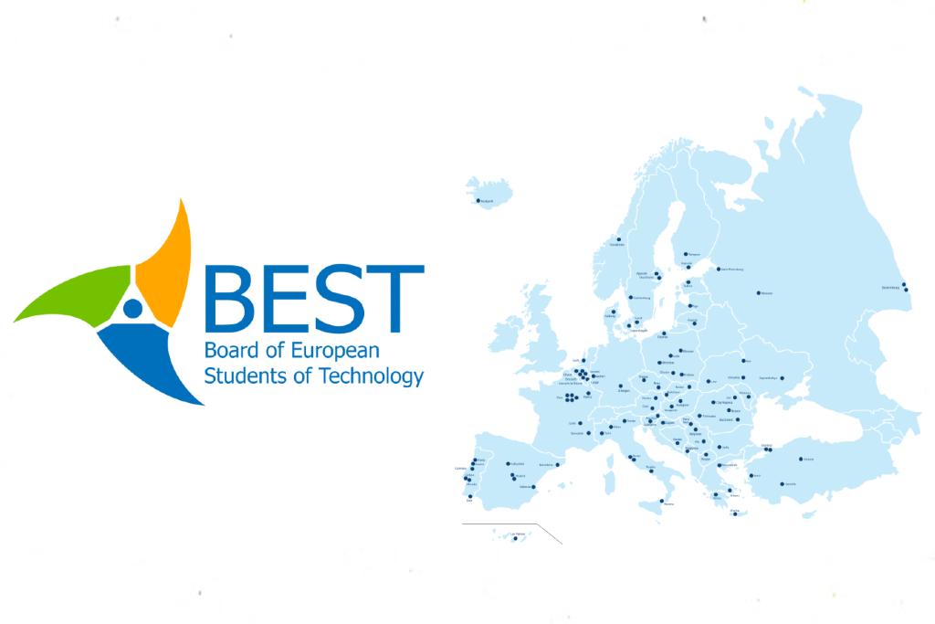 Logo y distribución de los comités locales de BEST - Estudiar - Blog de Alba Vilanova