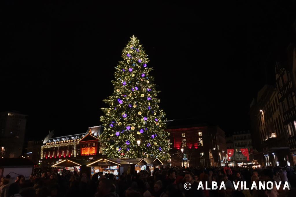 El árbol de Navidad del mercado de Estrasburgo - Alemania - Viajar - Blog de Alba Vilanova