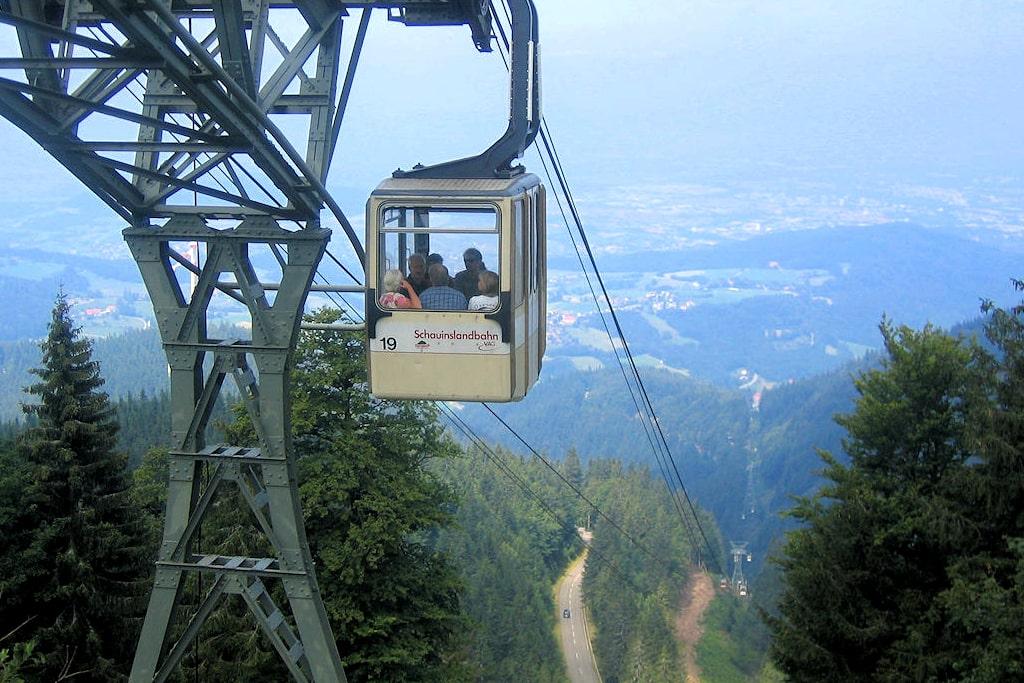 Vistas desde el teleférico Schauinslandbahn @black-forest-travel.com - Alemania - Viajar - Blog de Alba Vilanova