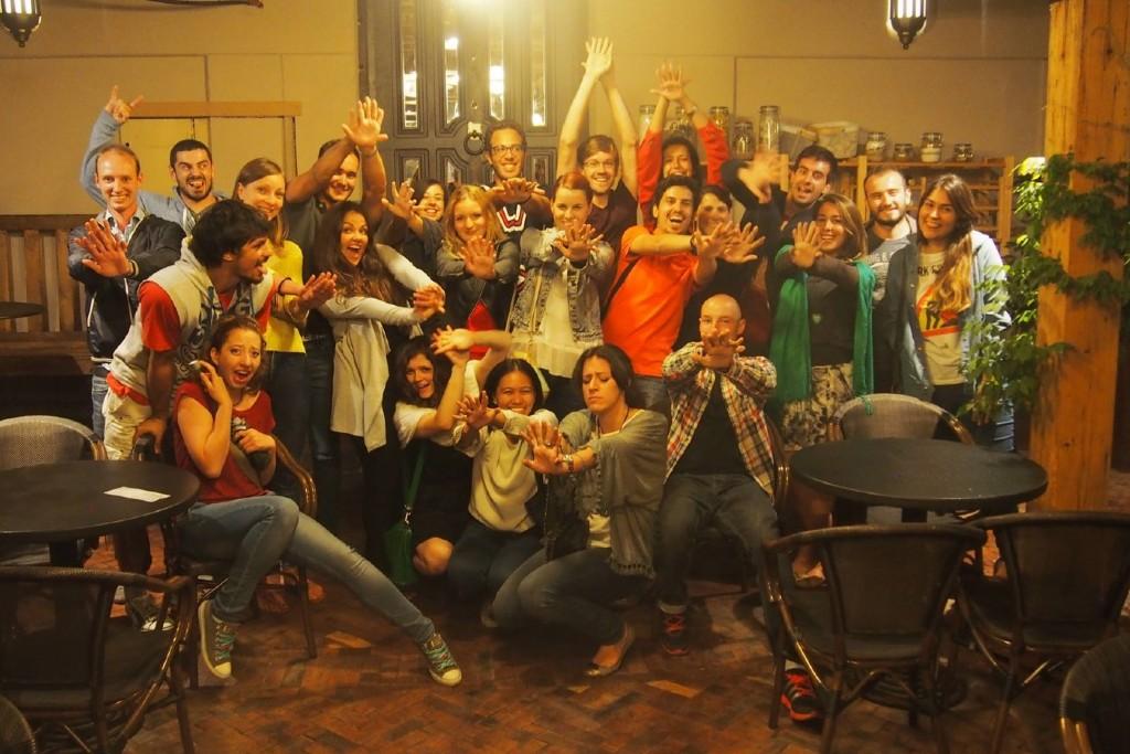 Una de mis noches de fiesta en Banja Luka @ Foto cedida por Eli Castro - Bosnia y Herzegovina - Trabajar en el extranjero - Blog de Alba Vilanova