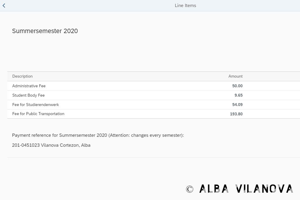 El pago semestral de estudiar un máster en la Universidad Técnica de Berlín - Alemania - Estudiar - Blog de Alba Vilanova