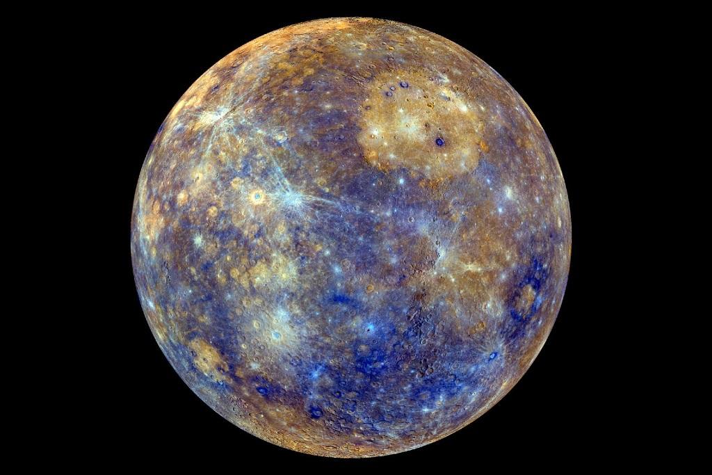 """O planeta Mercúrio, que da nome à quarta-feira em espanhol (""""El miércoles"""") @ NASA"""